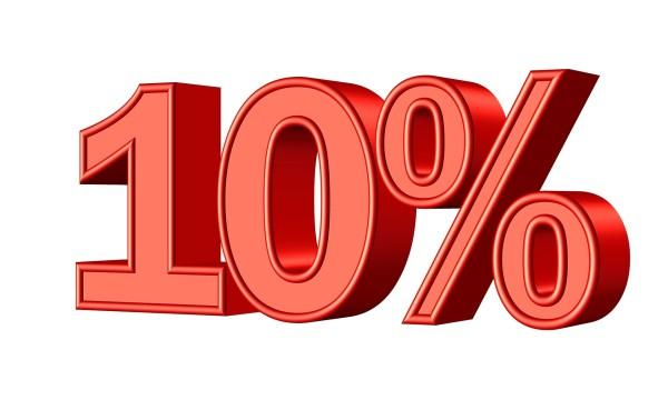 10% student/teacher discount