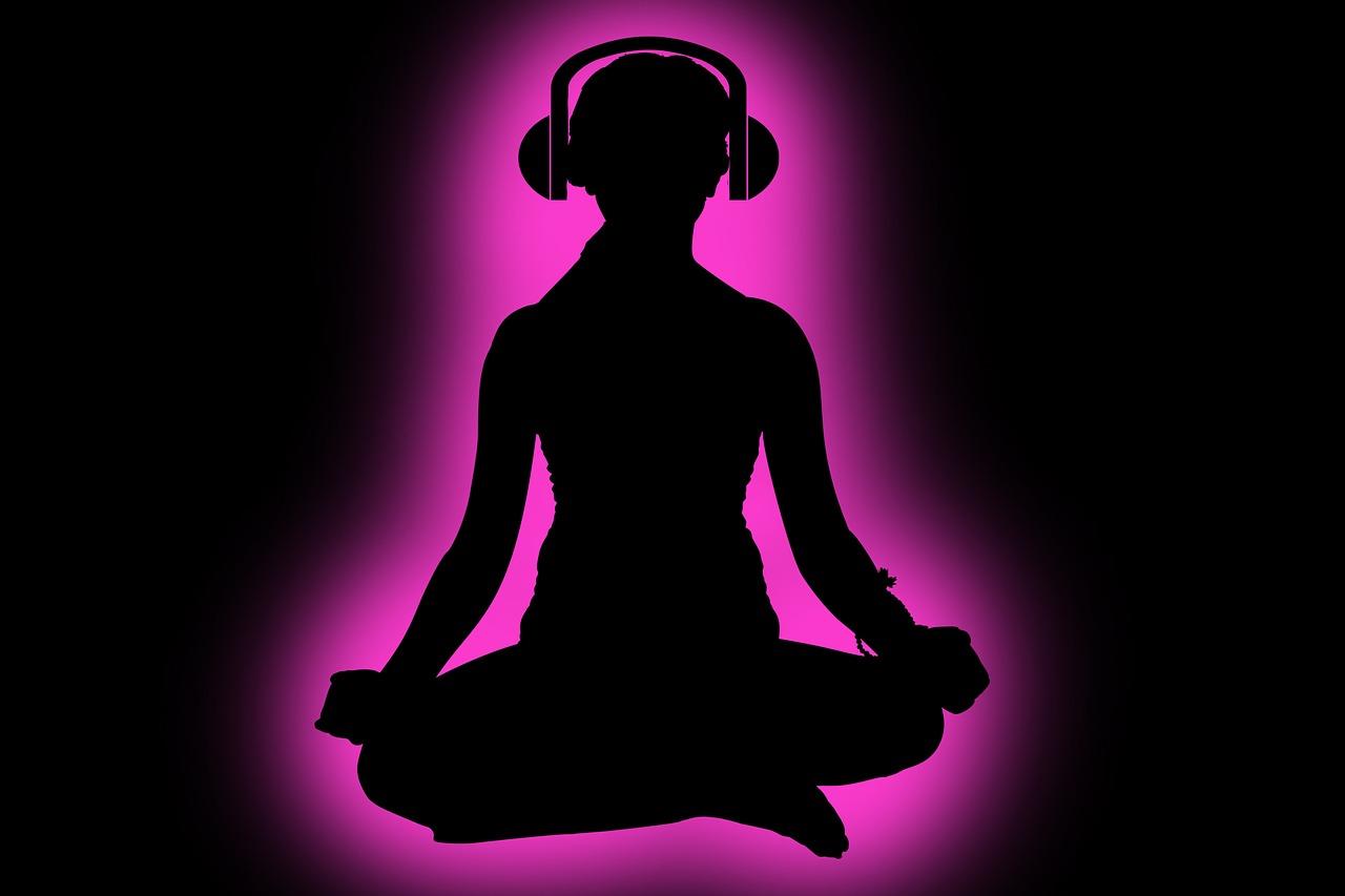 Calming music de-stress