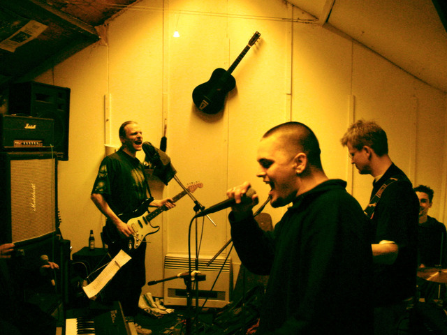 Band In Rehearsal